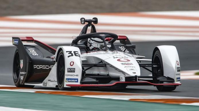 André Lotterer manda en el inicio del test oficial de la Fórmula E