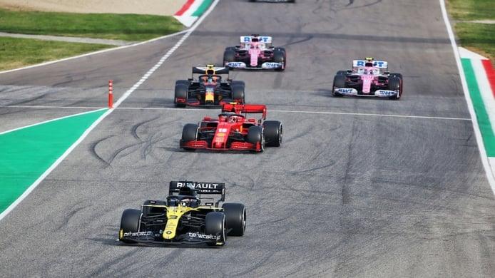Así entregó Racing Point el podio a Renault: «La segunda parada no tenía sentido»