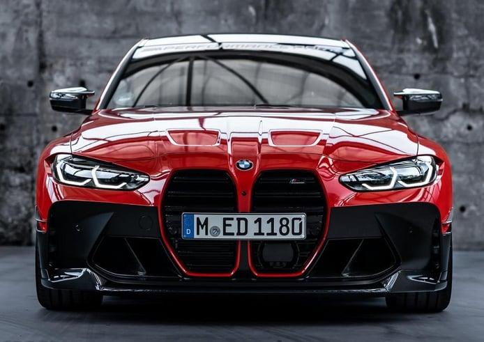 El nuevo BMW M3 G80, más agresivo con los accesorios de M Performance [vídeo]