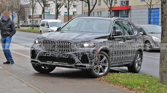 BMW X5 2022, el lavado de cara de la cuarta generación ya está en marcha