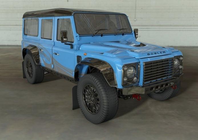 El Bowler CSP 575 llegará en 2021 reviviendo el clásico Land Rover Defender 110