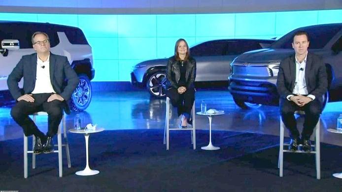 General Motors filtra algunos diseños de sus futuros SUVs y pick-ups eléctricos