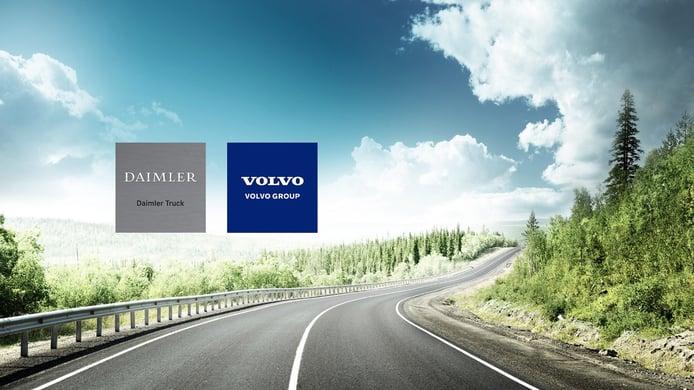 Daimler y Volvo ahondan en su colaboración en pila de combustible para camiones