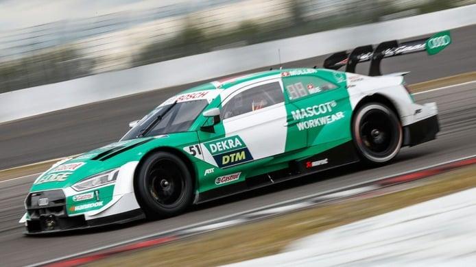 Müller desafía el tricampeonato de René Rast en los libres del DTM en Hockenheim