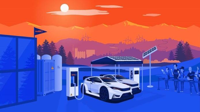 La FIA busca proveedor de energía para sus 'Rally1' híbridos enchufables