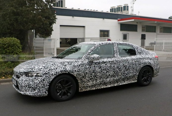 El Honda Civic Sedán de nueva generación se deja ver por primera vez
