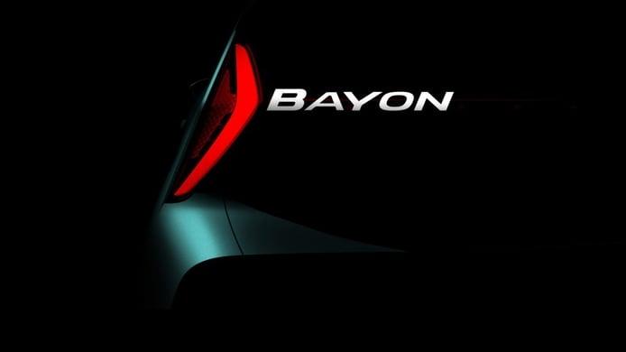 Hyundai Bayon, primer teaser del nuevo B-SUV que será presentado en 2021