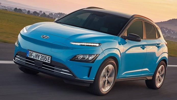 Hyundai Kona Eléctrico 2021, puesta a punto para el exitoso SUV eléctrico
