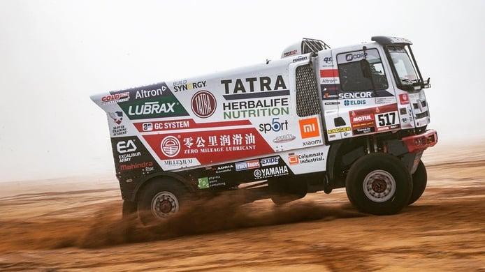 Ignacio Casale cambia el quad por un camión Tatra en el Dakar 2021