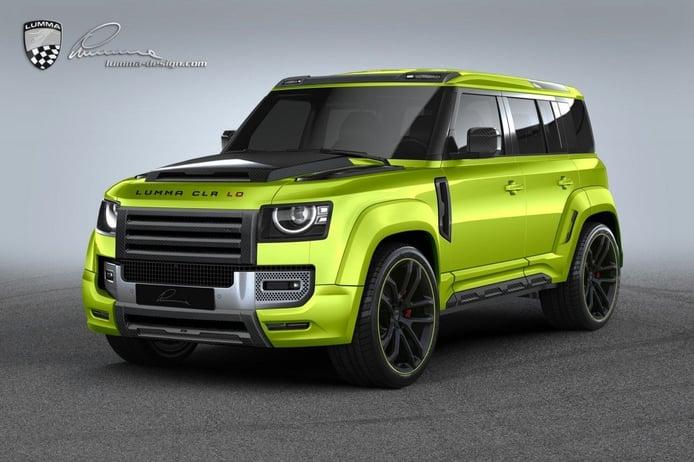 Lumma Design muestra el lado más deportivo y agresivo del Land Rover Defender