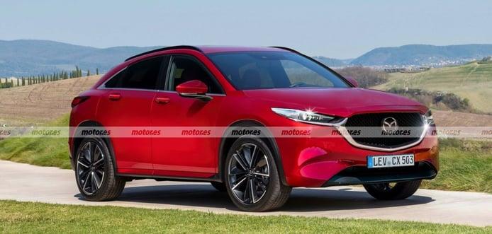 Mazda CX-50 2022, primera recreación del futuro SUV deportivo rival del BMW X4