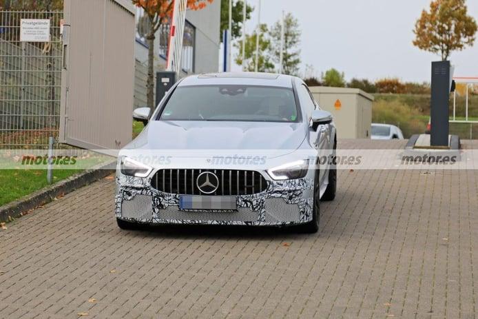Primeras fotos espía del facelift del Mercedes-AMG GT 63 S, una actualización para 2022