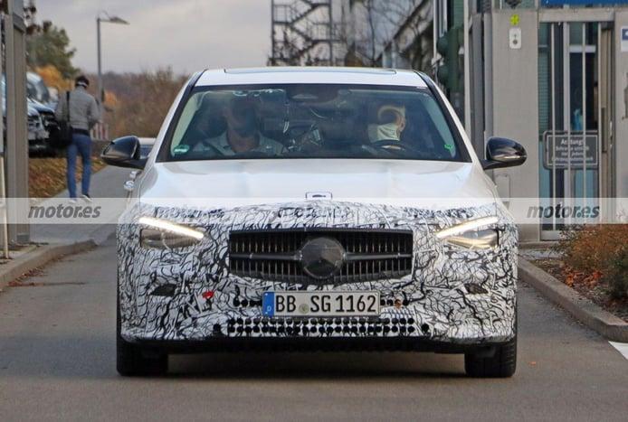Cazado el Mercedes Clase C 2021 en pruebas de conducción autónoma