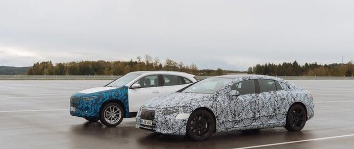 Un vídeo muestra las exigentes últimas pruebas de los Mercedes EQA y EQS 2021