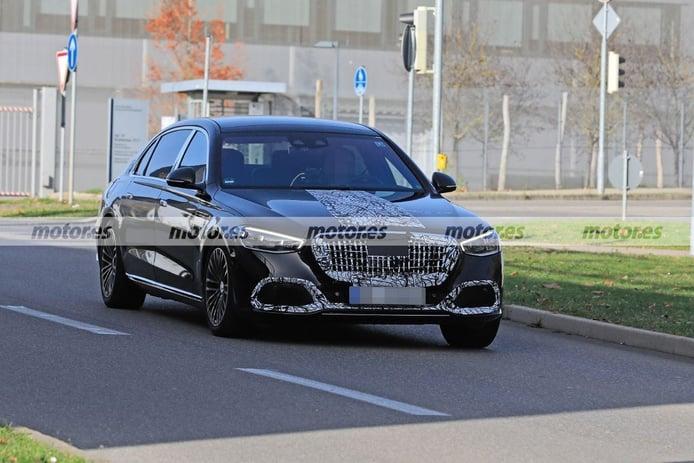 El Mercedes-Maybach Clase S 2021 se destapa por completo en nuevas fotos espía