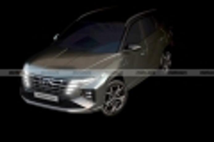 Hyundai desvela las primeras imágenes del nuevo Tucson N-Line