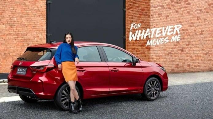 Honda City Hatchback 2021 - posterior
