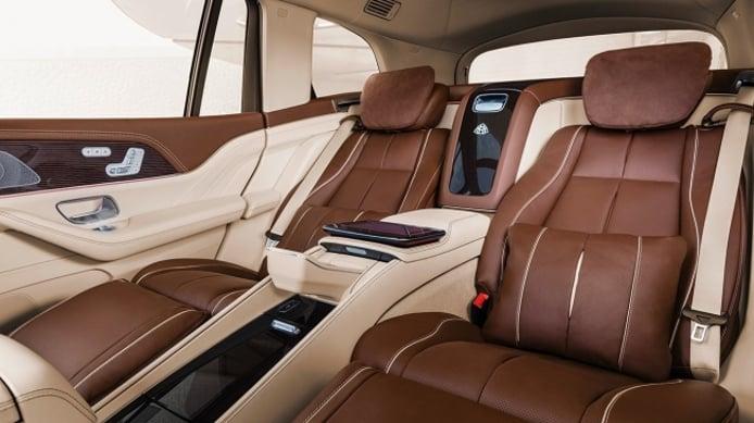 Mercedes-Maybach GLS - asientos traseros