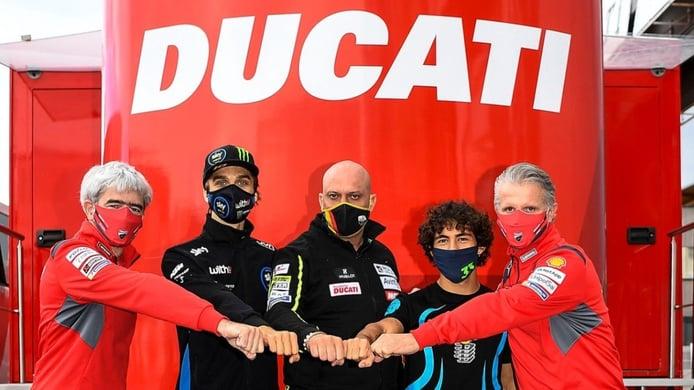 Enea Bastianini y Luca Marini saltan a MotoGP con Esponsorama Racing
