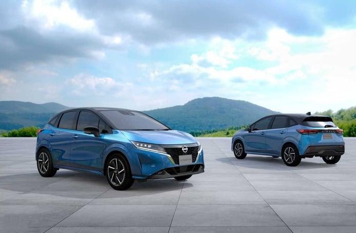 Nissan Note 2021, debut en Japón de la tercera generación con genes del Ariya