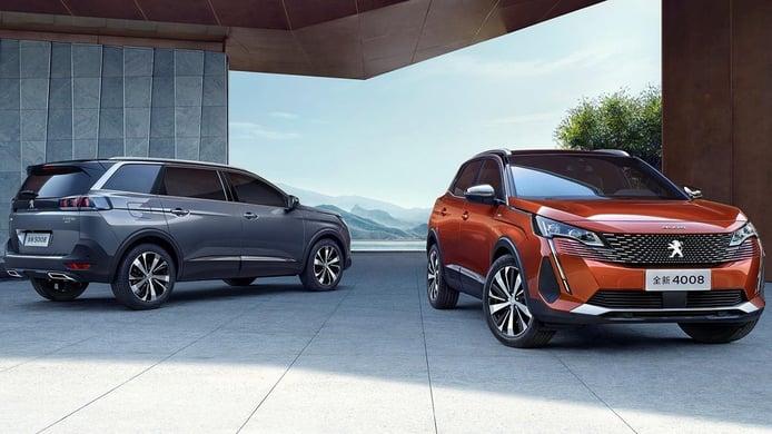 La ofensiva de Peugeot en China: desvelados los nuevos 4008 y 5008