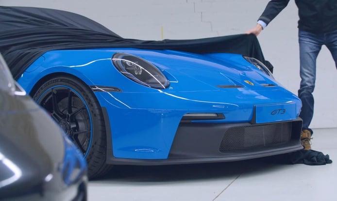 El nuevo Porsche 911 GT3 2021 se destapa por primera vez [vídeo]