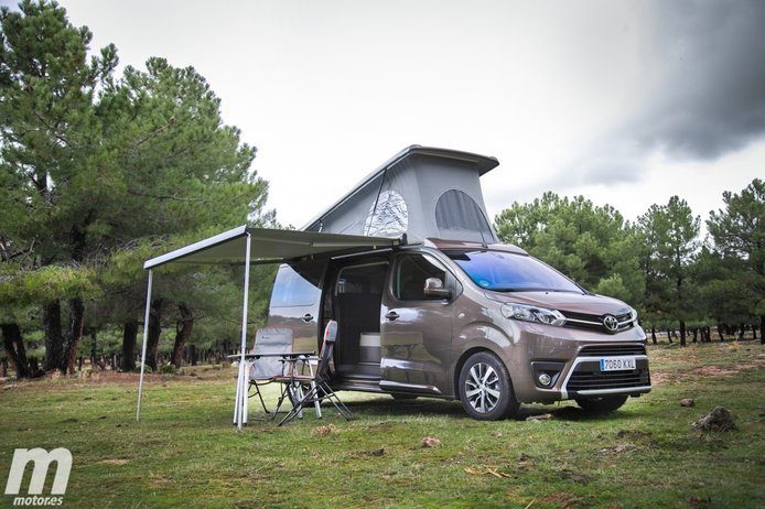 Prueba Toyota ProAce Verso Camper, la mayor de las polivalencias