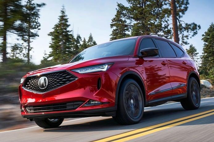 Acura MDX 2022, llega la cuarta generación del SUV americano