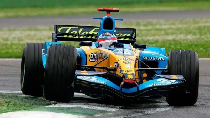 Alonso rodará con el mítico Renault R25 de 2005 en el GP de Abu Dhabi