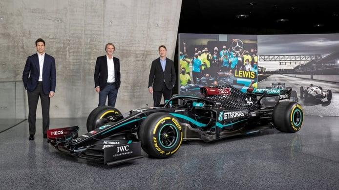Anuncio en Mercedes: Wolff renueva por tres años e INEOS se convierte en accionista