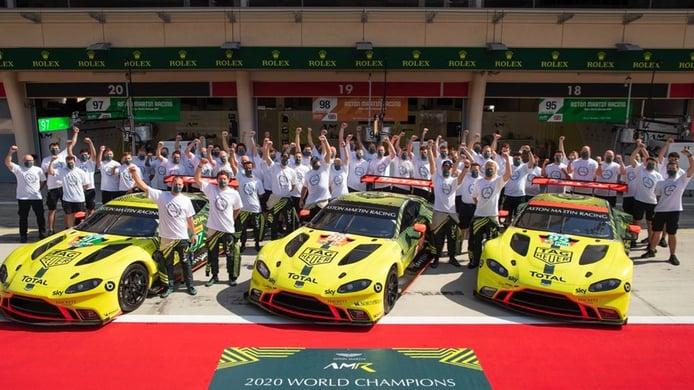 Aston Martin cierra su programa oficial en la clase LMGTE-Pro del WEC