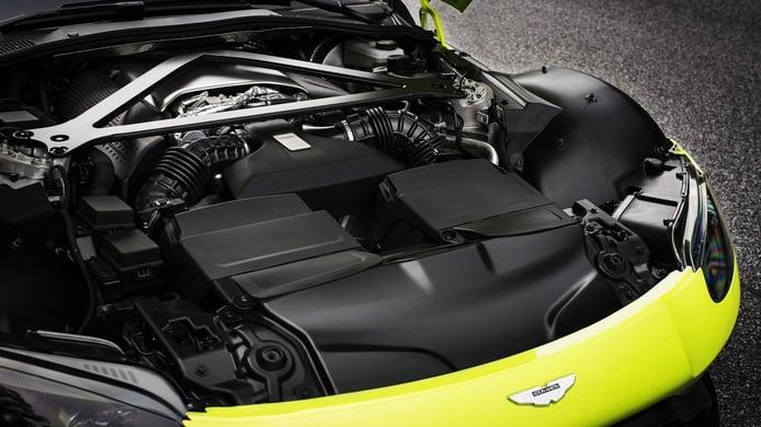 Aston Martin va a emplear motores Mercedes-AMG especiales