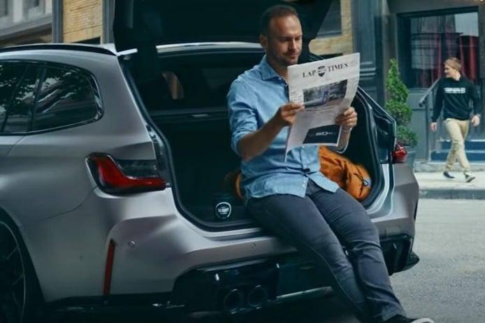 El nuevo BMW M3 Touring 2022 de deja ver tímidamente en un primer teaser