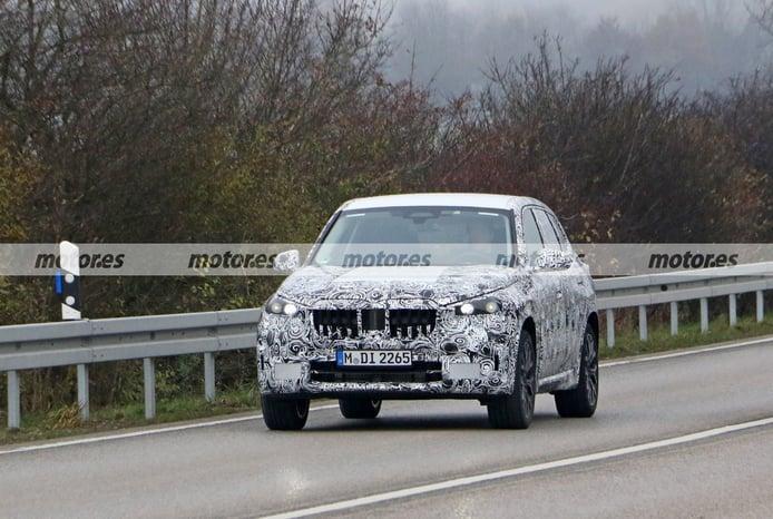El nuevo BMW X1 PHEV 2022, el híbrido enchufable, cazado en sus primeras fotos espía