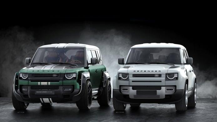 Carlex Design aumenta la deportividad en el Land Rover Defender Racing Green Edition