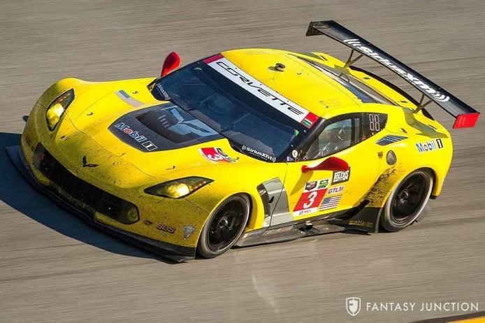 Pieza única: el Chevrolet Corvette C7.R ganador en Daytona y Sebring a la venta