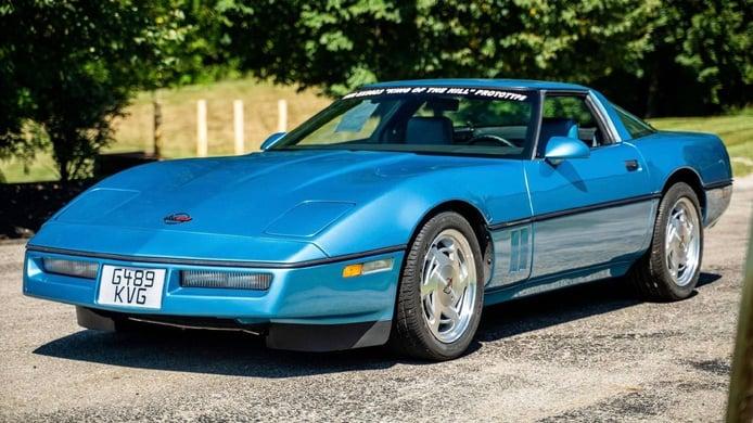 El prototipo del Corvette ZR-1 descubierto en un desguace vendido a precio de saldo