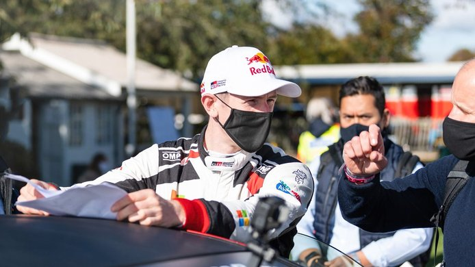 Elfyn Evans y Sébastien Ogier se juegan el título del WRC en Monza