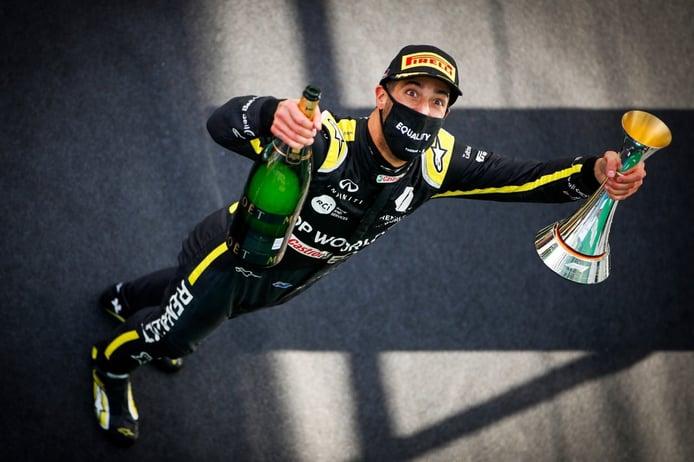 La emotiva despedida de Renault a Daniel Ricciardo