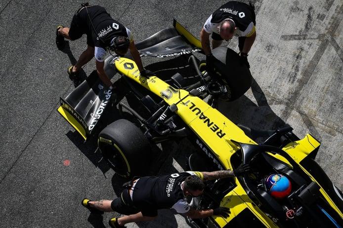 Renault confirma que Alonso estará en el test de Abu Dhabi con Renault