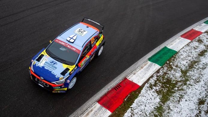 Jari Huttunen conquista el título de WRC3 en el Rally de Monza