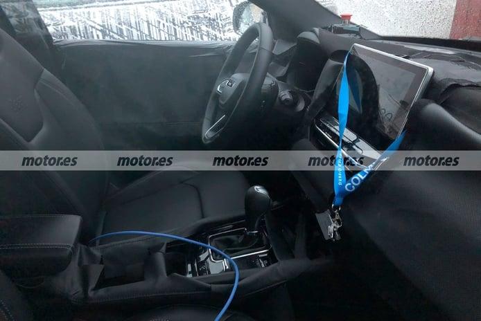Nuevas fotos espía del Jeep Compass Facelift 2022 en las pruebas de invierno