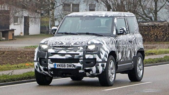 El Land Rover Defender 90 con motor V8 será realidad, atención a estas fotos espía