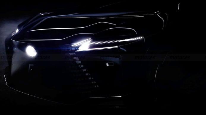 Lexus avanza un teaser de un nuevo eléctrico. ¿Será el nuevo RZ450e de producción?