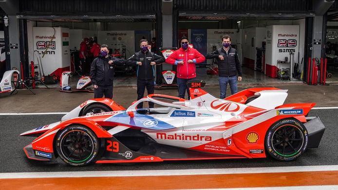 Mahindra ratifica su vínculo con la Fórmula E con el debut de los 'Gen 3'