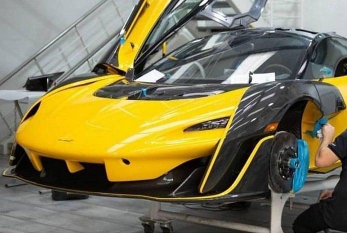 Primeras imágenes del nuevo McLaren Sabre definitivo al desnudo