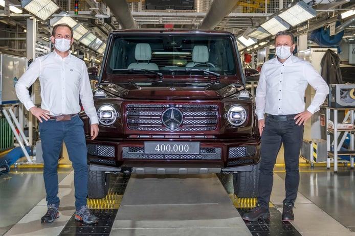 La producción del Mercedes Clase G roza el medio millón de unidades desde 1979