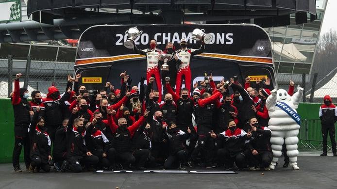 Michelin se marcha del WRC con honores y por la puerta grande