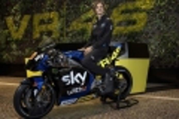Sky Racing Team VR46 pone color a la MotoGP del joven Luca Marini