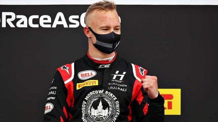 Nikita Mazepin, confirmado como piloto oficial de Haas F1 para 2021